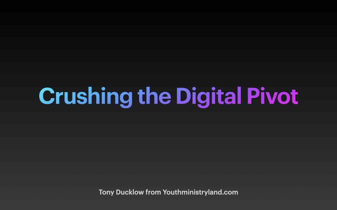 Digital Pivot Seminar for Minnesota United Methodist
